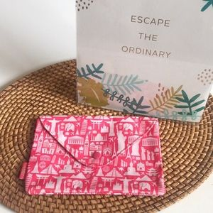 Ipsy Pink Travel Makeup Cosmetic Bag